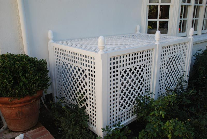 Best 25 ac unit cover ideas only on pinterest hide ac - Air conditioner cover ideas ...
