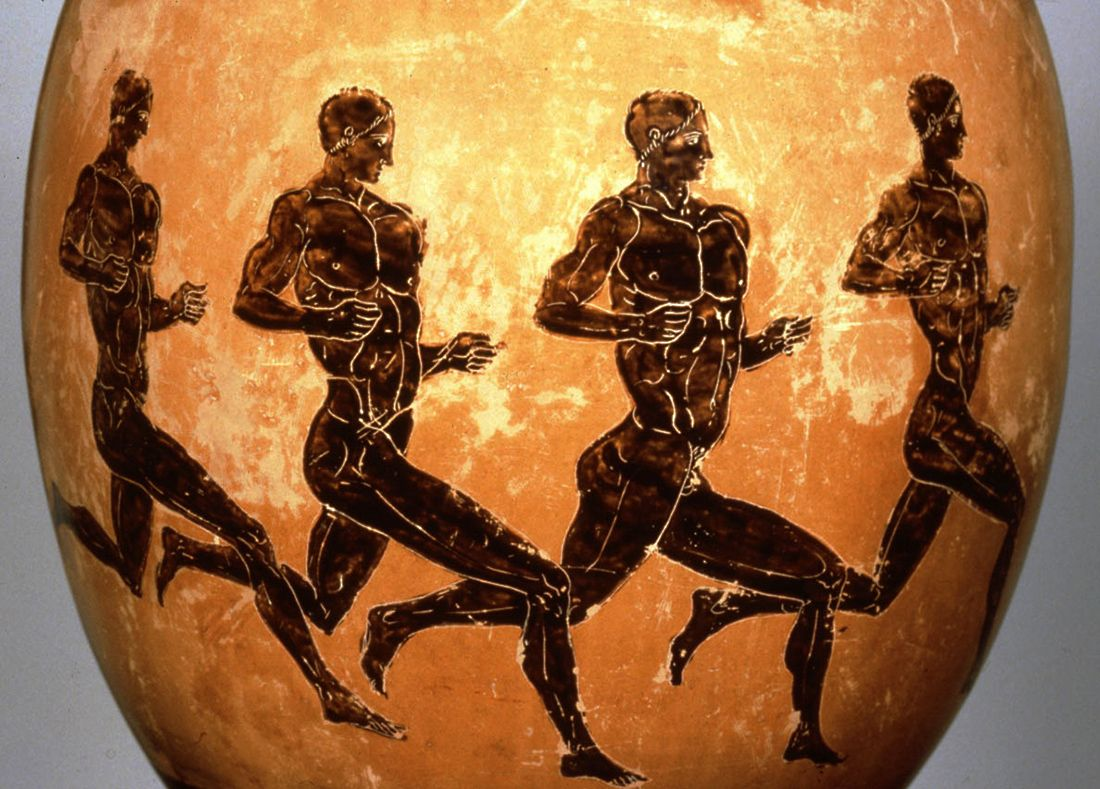 Image result for Ancient Greek running vase