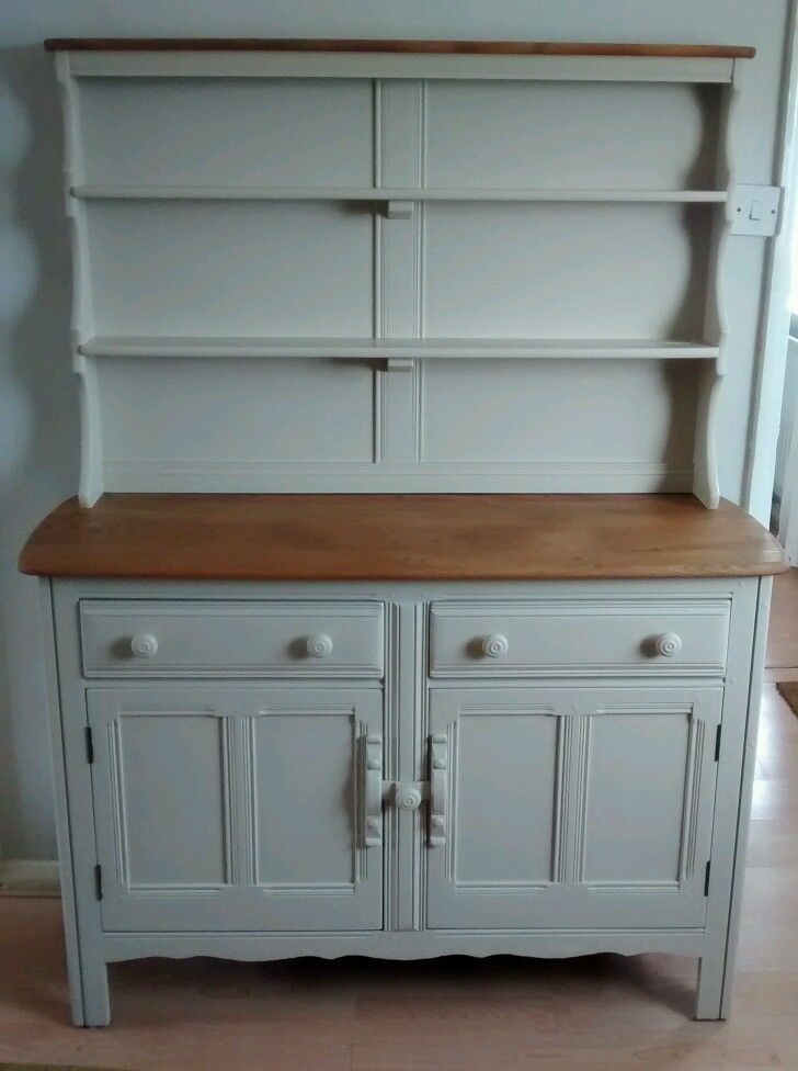 Vintage Ercol Dresser Sideboard Sanded Painted In Home Furniture DIY Sideboards Buffets Trolleys