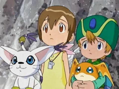 Gatomon Kari Tk And Patamon Digimon Digimon Tamers Digimon