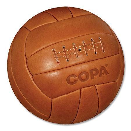 Balón Retro Copa 1950 s - Balón de fútbol estilo clásico de cuero ... 7bfc3243adc17