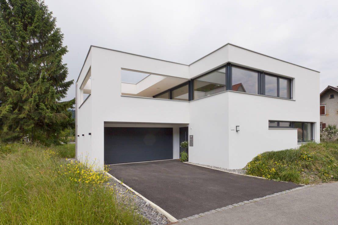 Das chamäleon haus zufahrtzugang moderne häuser