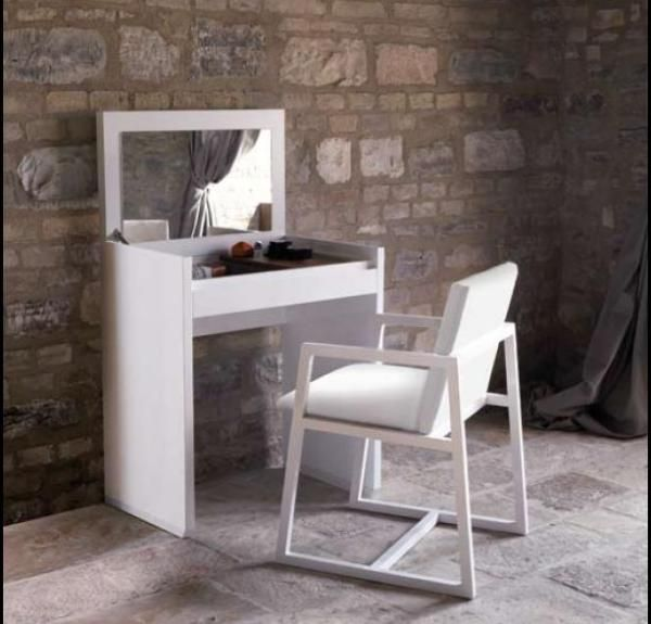 White Vanity Dressing Table | Casabella Adria Small Dressing Table U0026 In  Black Or White