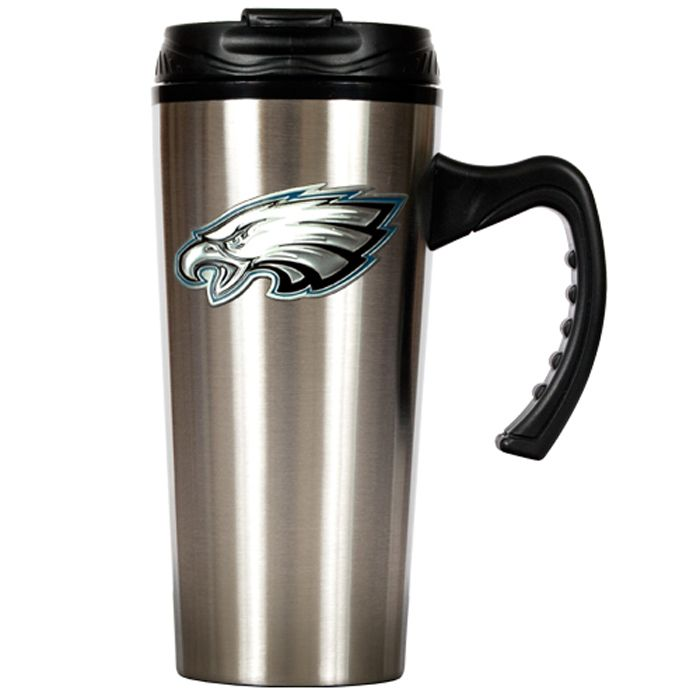 09788ca73a1 Philadelphia Eagles NFL 16oz Stainless Steel Insulated Travel Mug by ...