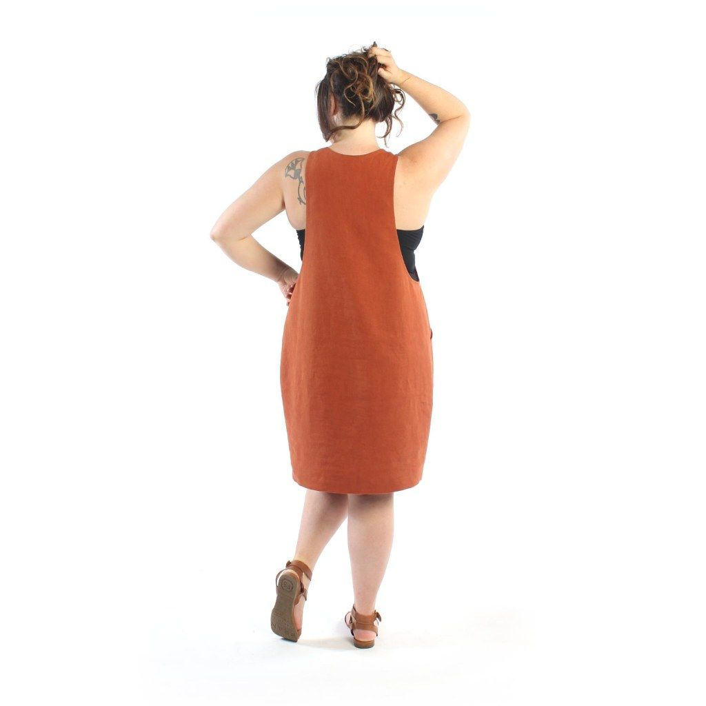 Pinafore Pattern, Cocoon Dress, Sewing Paterns