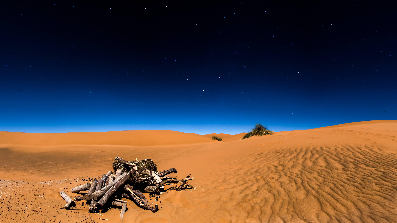 Night In The Sahara Desert 2048x1152 Sahara Desert Photo Background Wallpaper Beautiful Nature
