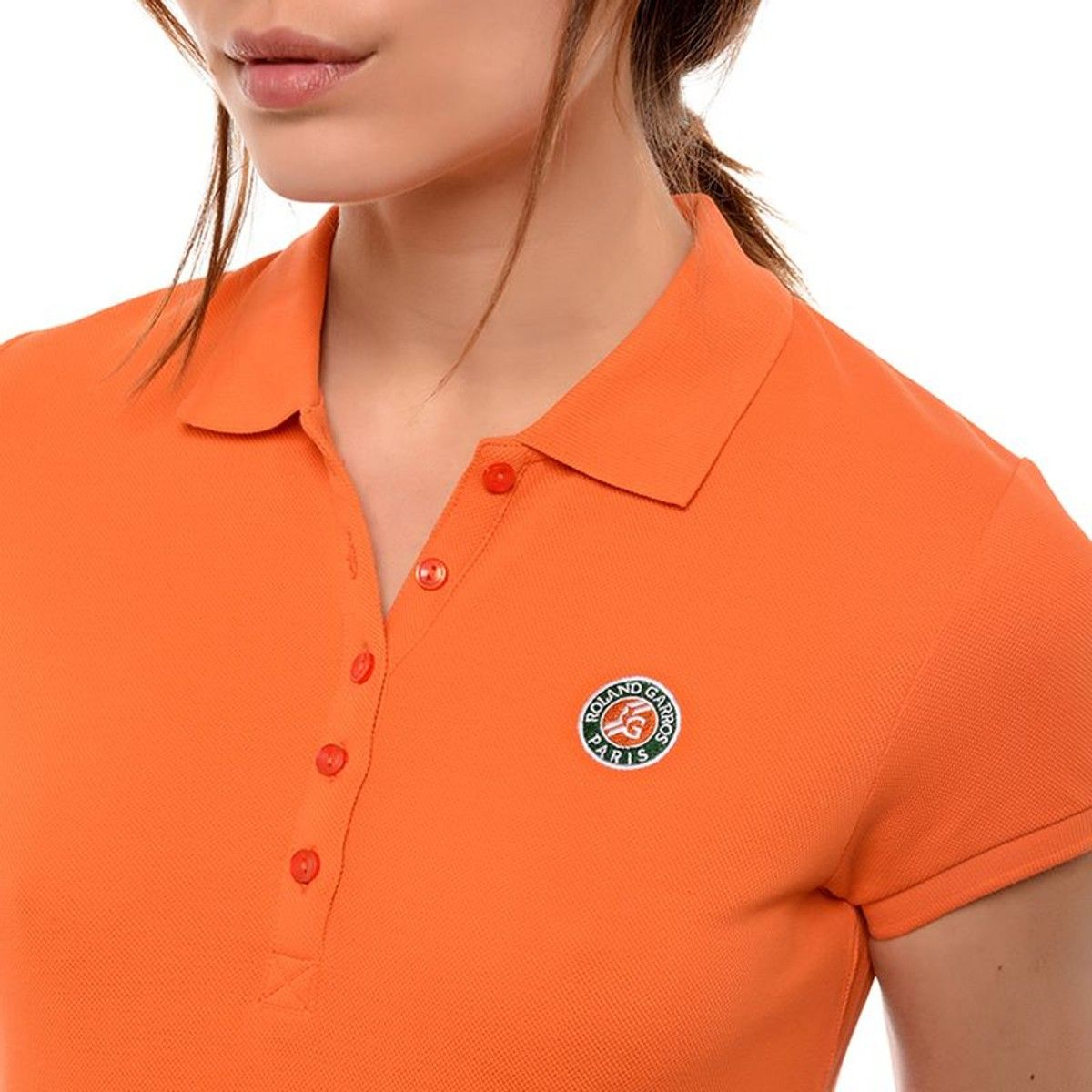 ee5a8554e2f1f Polo Piqué Logo Tricolore - Taille   42 38 46 32