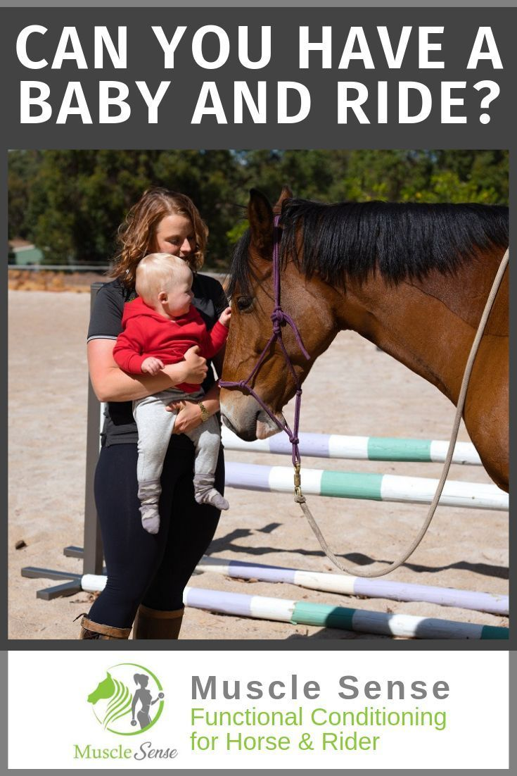 Do you stop becoming an equestrian as soon as you get pregnant?  This is how I manage to horseback r...