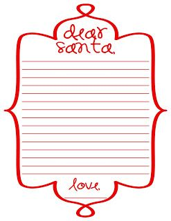 Free Printable Santa Letter  Jingle All The Way