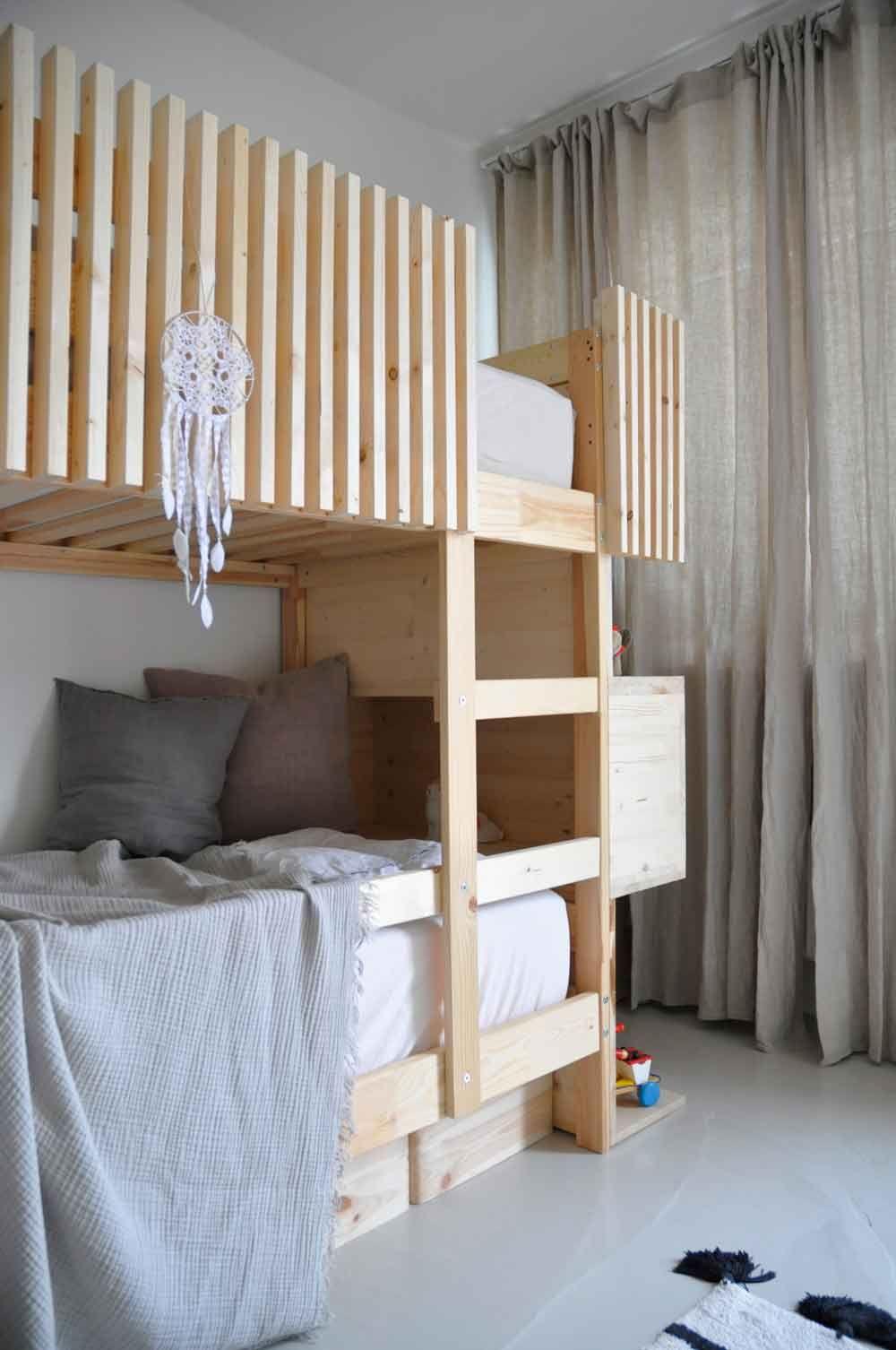 Diy Kinder Zimmer Etagenbett Kinder Und Hochbetten Kinderzimmer
