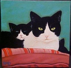 MOMMA CAT by Rosemary Margaret Daunis