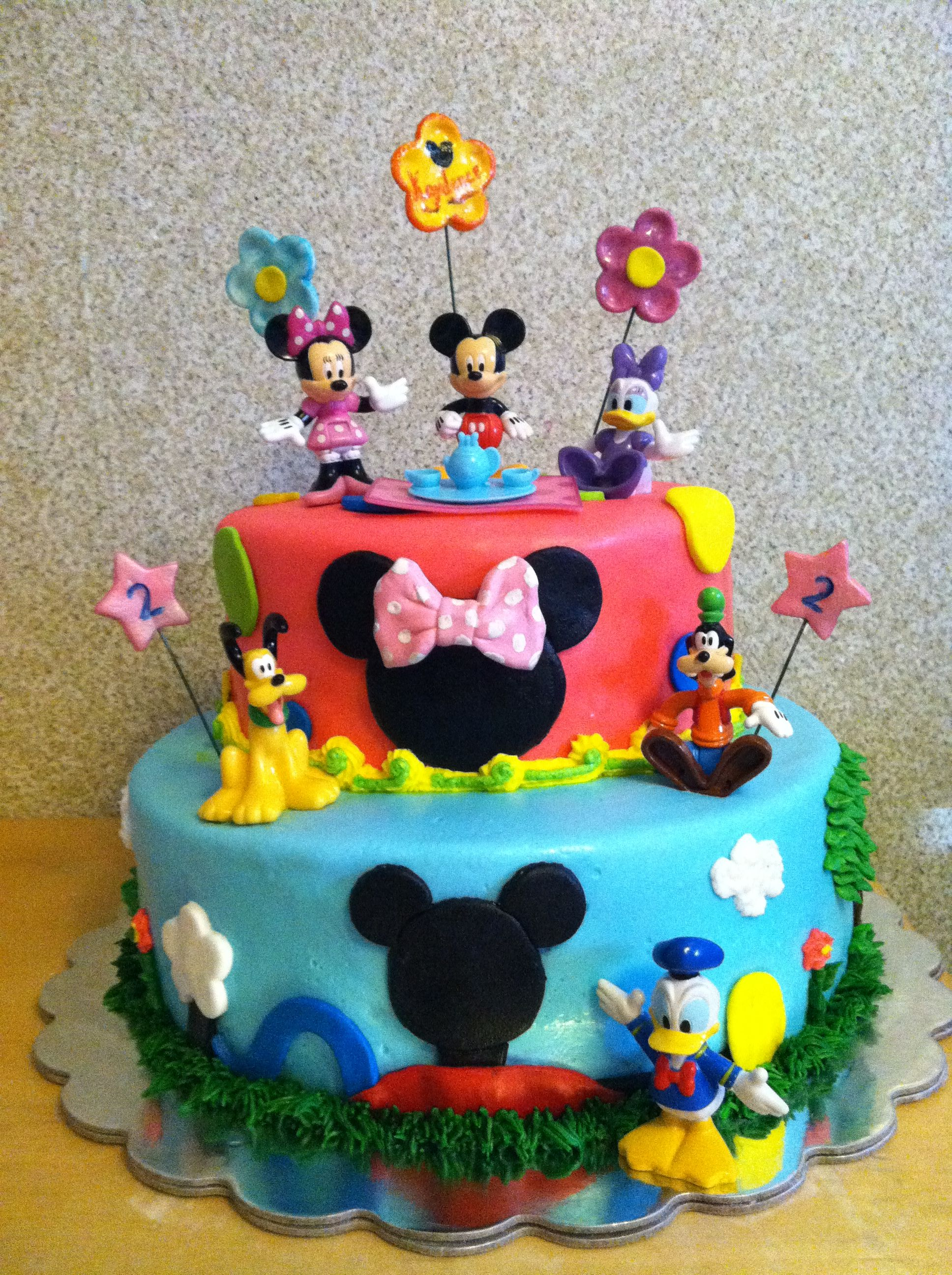 Mickey Mouse Clubhouse Cake   My Cakes   Pinterest   Tortilla ...
