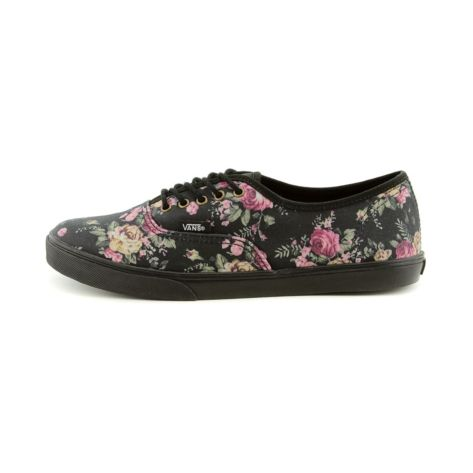 26d96bf8358cde Shop for Vans Authentic Lo Pro Skate Shoe in BlackFloral at Journeys ...