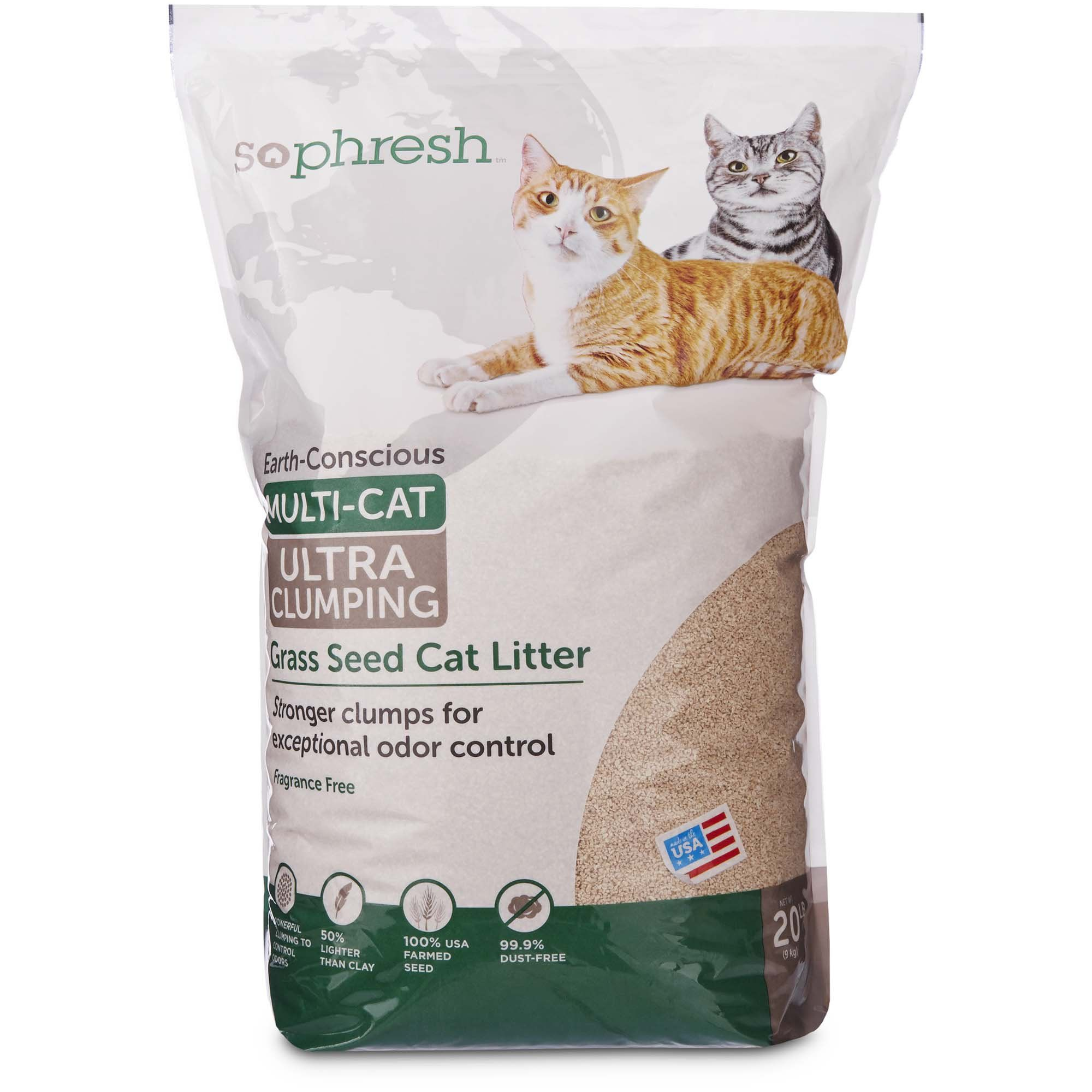 Okocat Natural Wood Clumping Cat Litter, 13.2 lbs in 2019