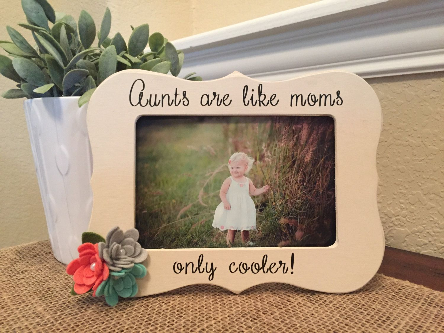 New aunt gift Aunts are like moms frame aunt gift auntie sister gift ...