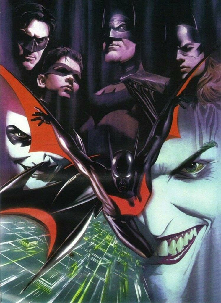 87216b85 Batman Beyond Alex Ross | The Batman Family and Gotham | Alex Ross ...