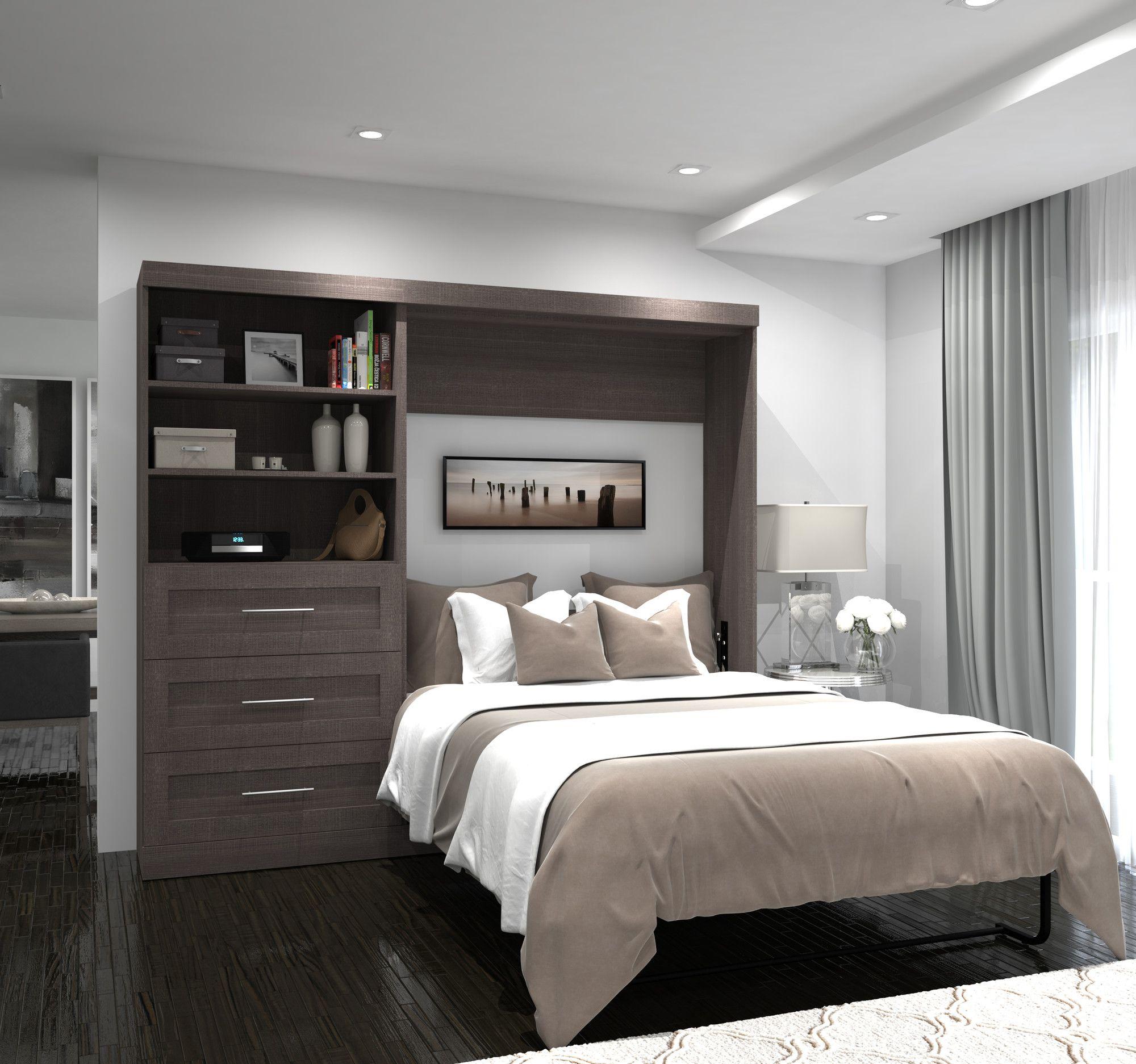 Walley Full Double Murphy Bed Modern Murphy Beds Murphy Bed Murphy Bed Plans