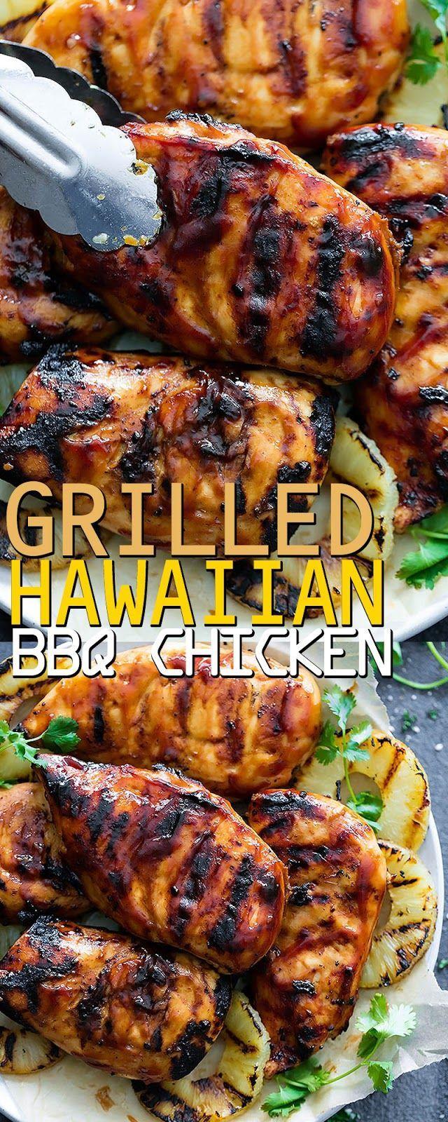 GRILLED HAWAIIAN BBQ CHICKEN   - Favorite Food -