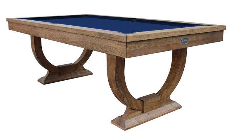 signature huntsman rustic oak pool dining table  7ft