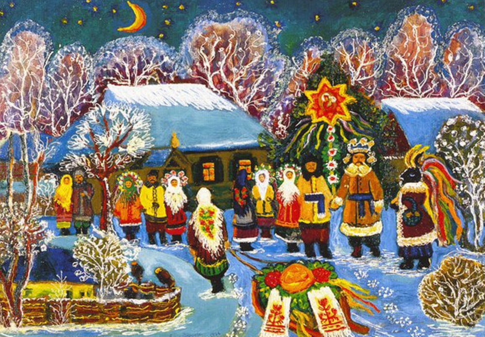 Ukrainian home decor for New Year holidays in 2020
