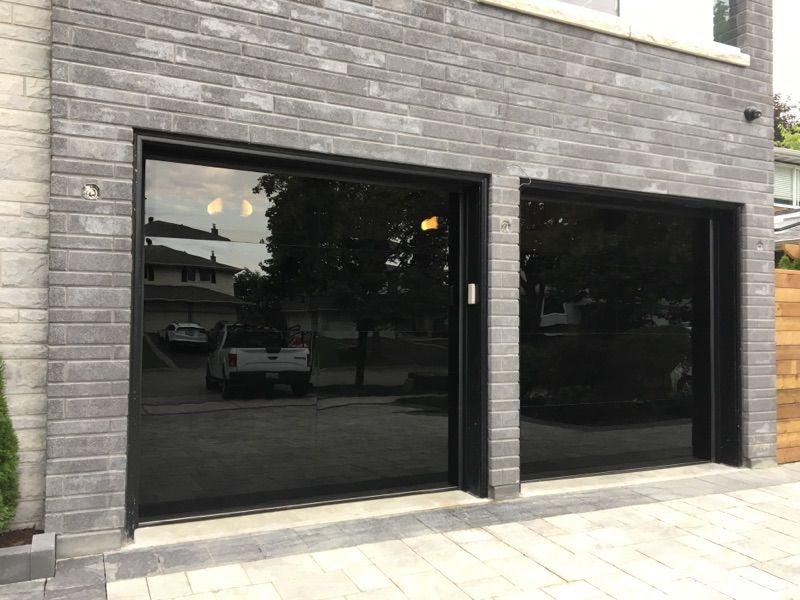 Modern Glass Garage Door Vaughan Garage Doors Modern Garage