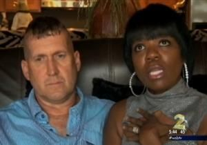 A Georgia couple started their new year with a sad reminder that racism still exists.