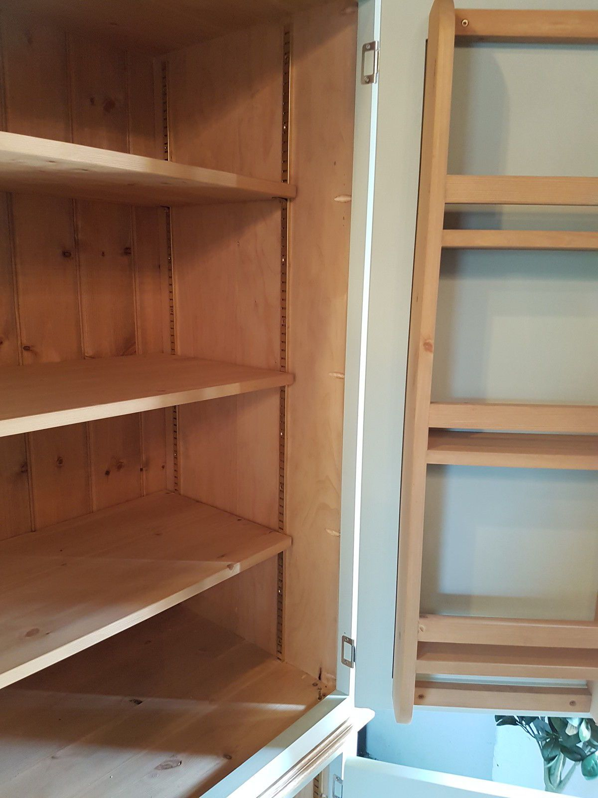 Hand Made Larder Cupboard Kitchen Storage Cabinet Ebay Pantry