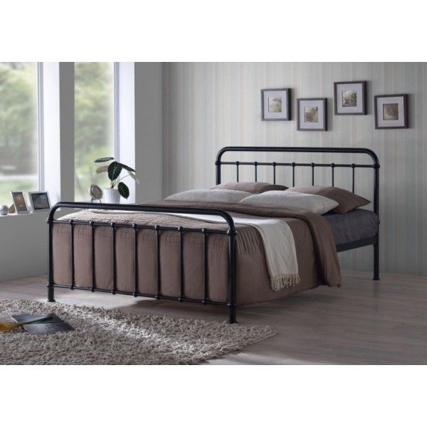 Henley Black Metal Hospital Dorm Bed Frame | Bedrooms | Pinterest