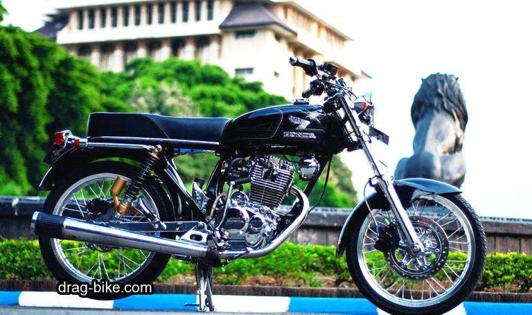 Gambar Modifikasi Motor Cb 100 Keren Honda Cb Cafe Racer Honda