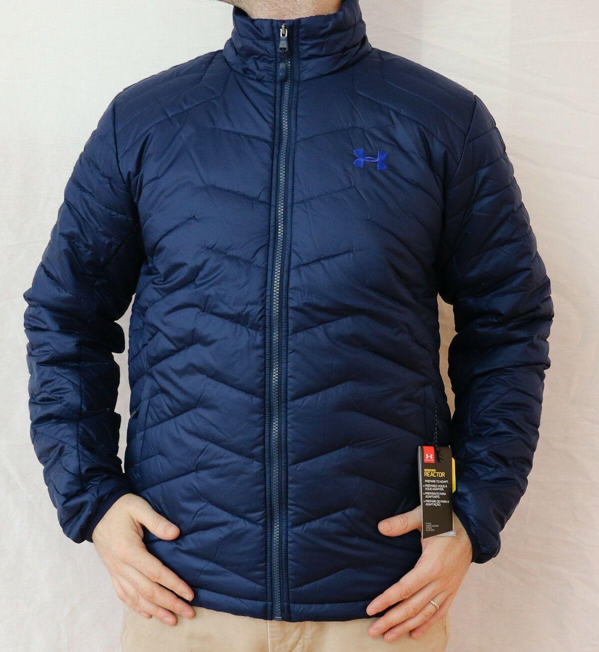 New Under Armour Coldgear Reactor Jacket Men S L 2xl 3xl Blue Ua Puffy Msrp 200 Mens Jackets Jackets Girls Puffer Jacket [ 1305 x 1198 Pixel ]