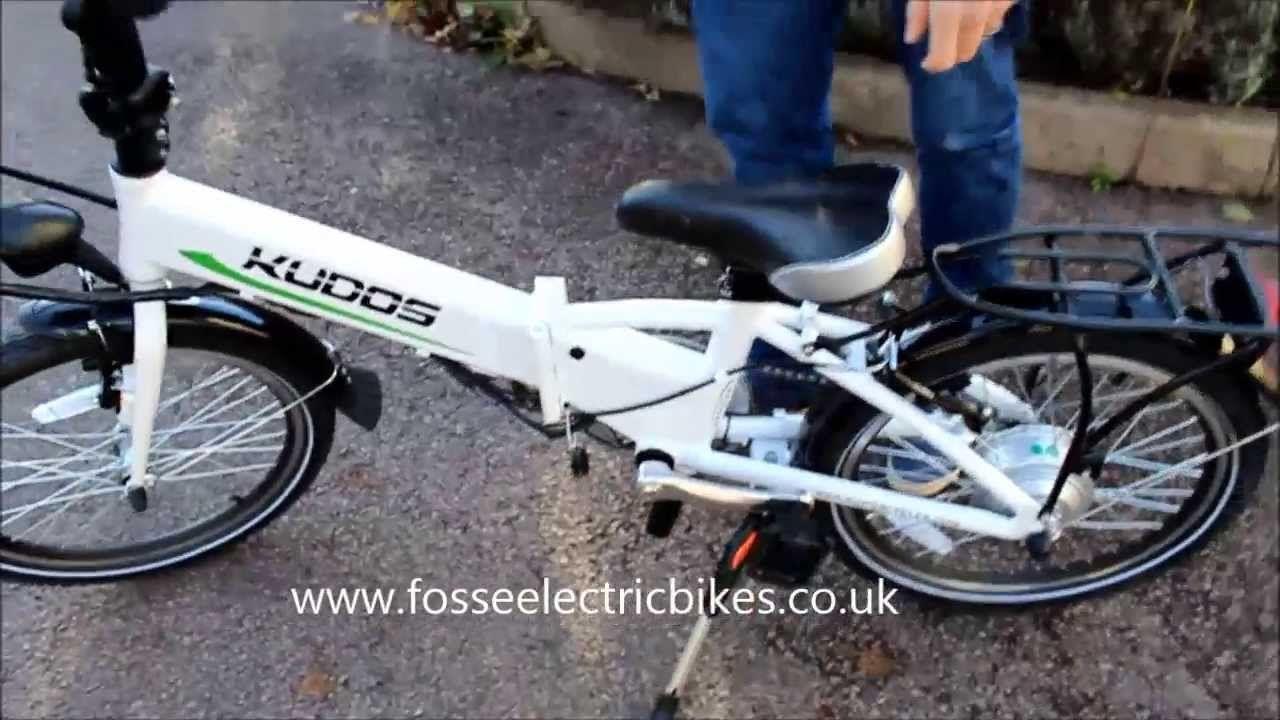 Ebike Electric Bike Review Folding Kudos Secret Electric Bike