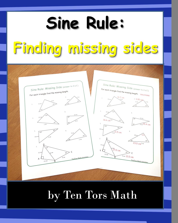Sine Rule Missing Sides