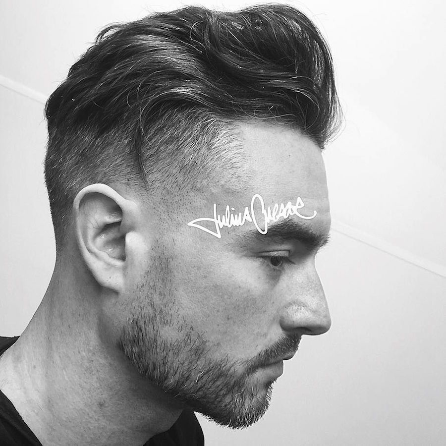Mens haircut short sides  cool haircuts for men  latest hairstyles for men  pinterest