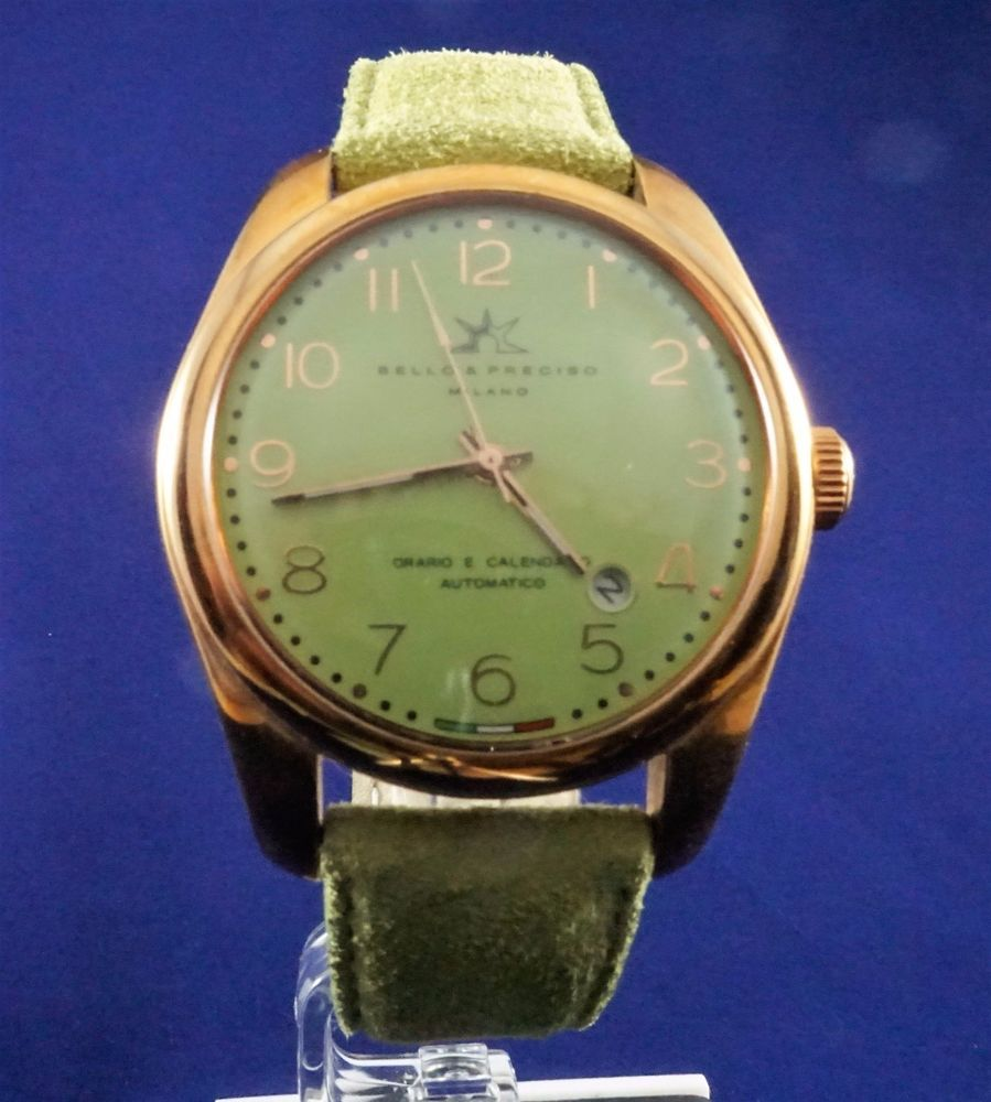 Bello Preciso Watch Tempo39 Lime Green Green Watch Lime