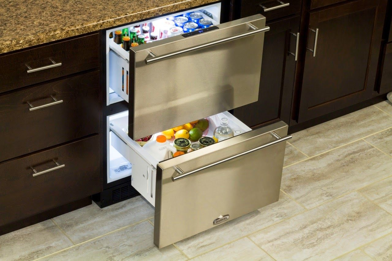 Marvel Undercounter Refrigerator Drawers Undercounter Refrigerator Refrigerator Drawers Fridge Drawers