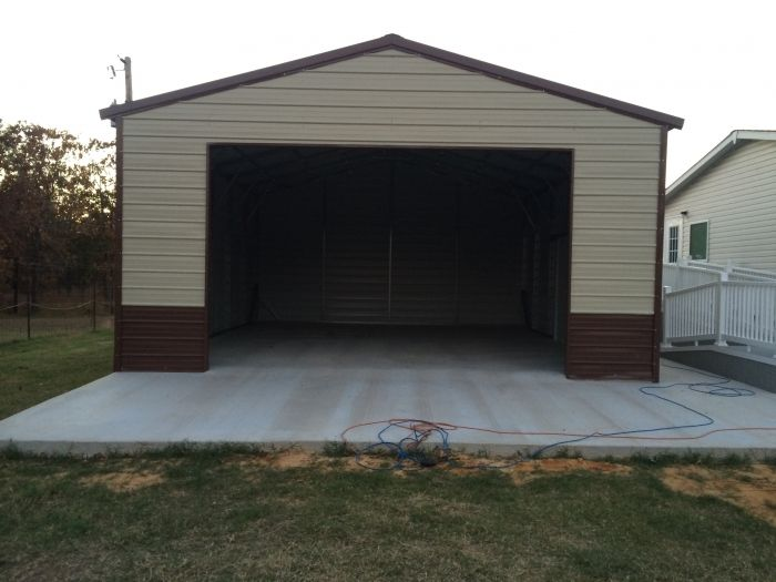 Garages Carports Album Image 22 Gallery 2 0 Metal Buildings Steel Building Homes Metal Building Kits