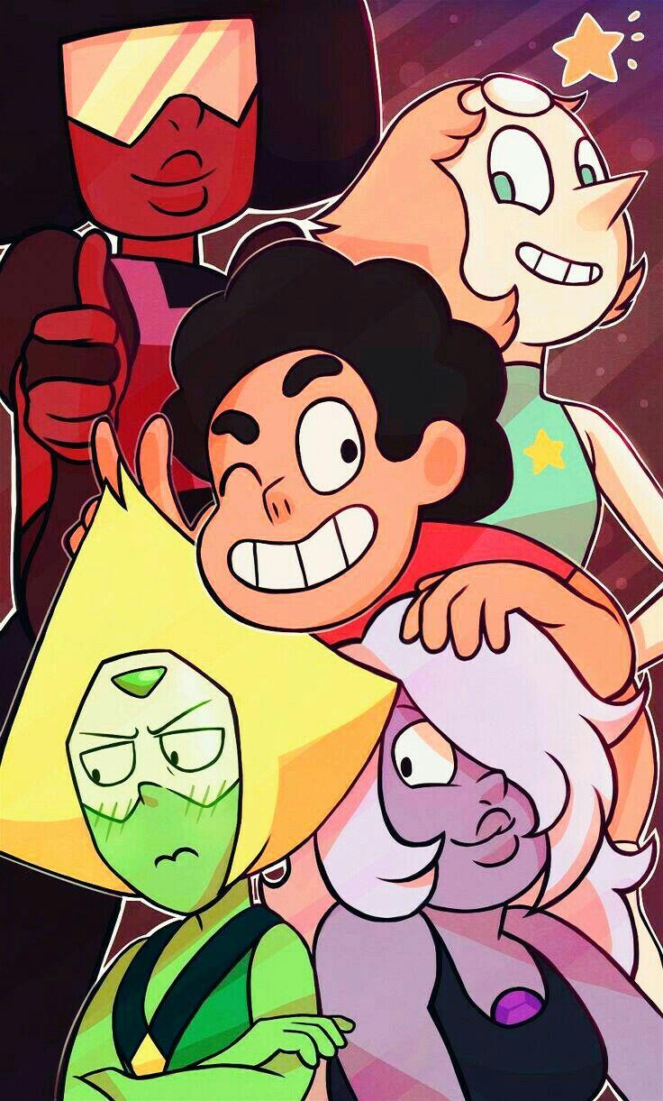 Primeira Foto De Família Perichateada Steven Universe
