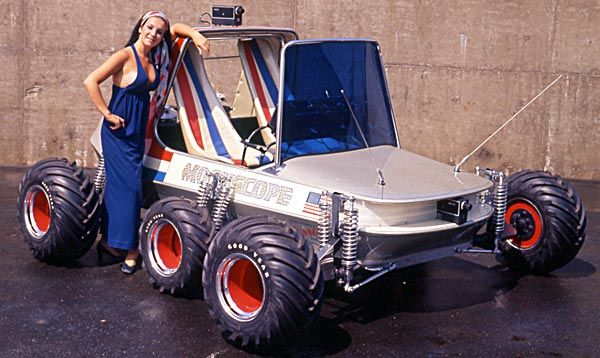 George Barris Car Creations | ... rover came out of barris shop barris said that nasa contacted him