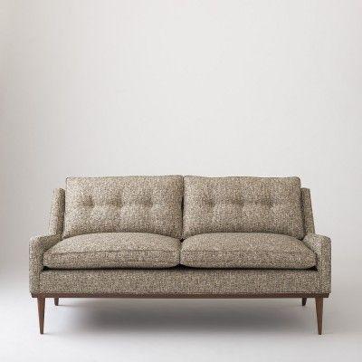 Tremendous Jack Loveseat Nubby Tweed Sofas Furniture Living Machost Co Dining Chair Design Ideas Machostcouk