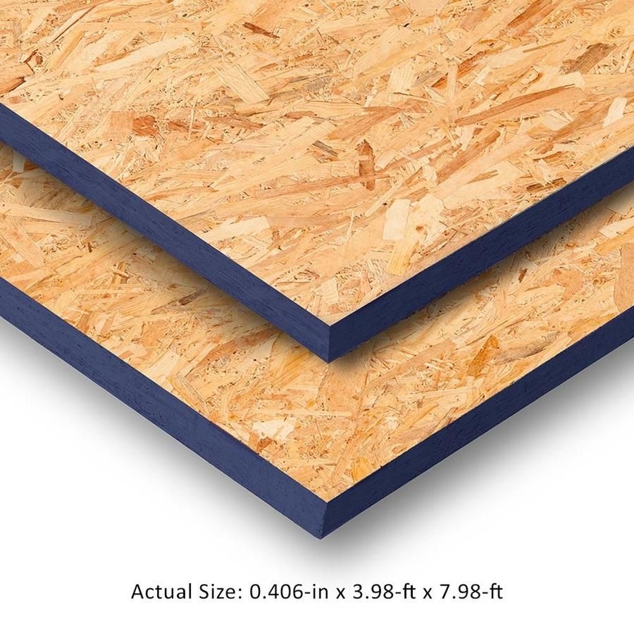 7 16 Cat Ps2 10 Osb Sheathing Application As 4 X 8 Lowes Com In 2020 Osb Sheathing Osb Sheathing