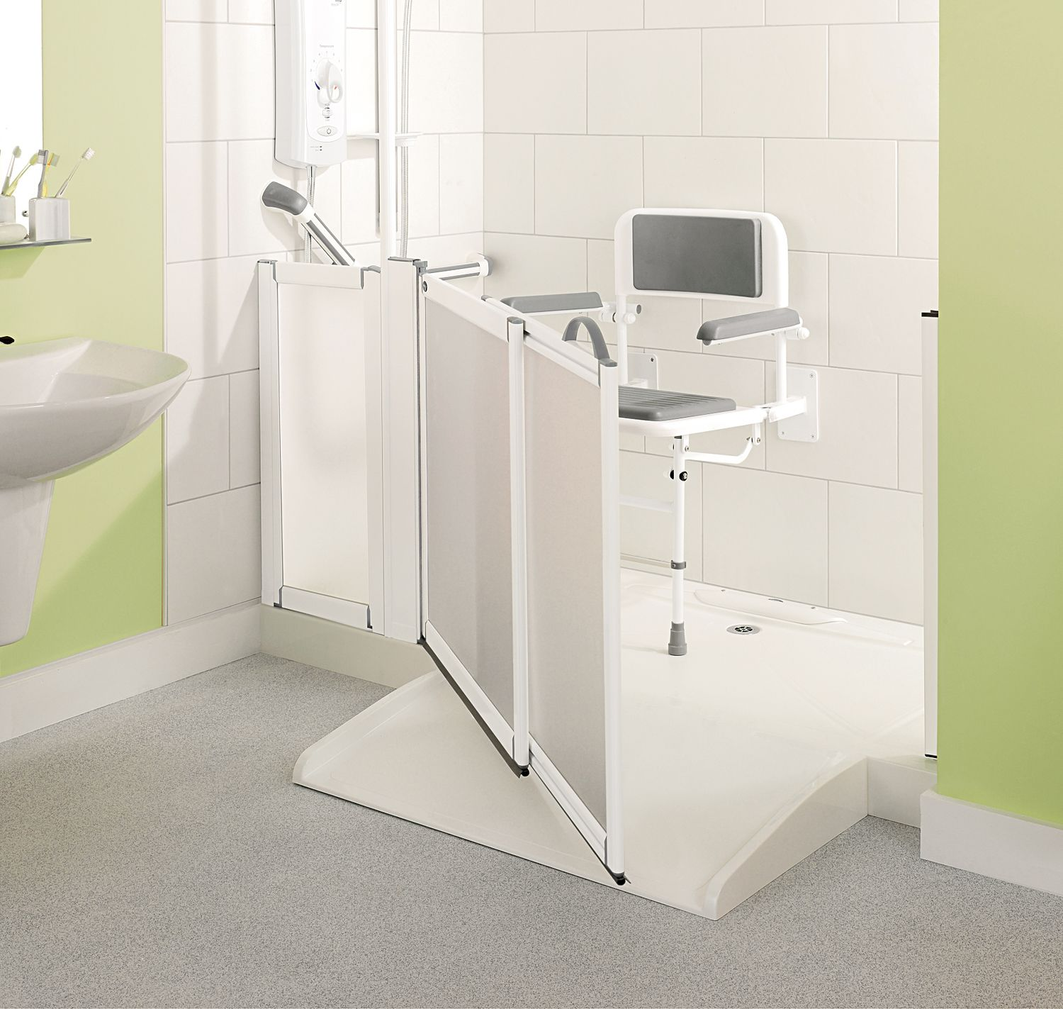 Make disabled showering easier with the impey aqua easy - Bathroom modifications for disabled ...
