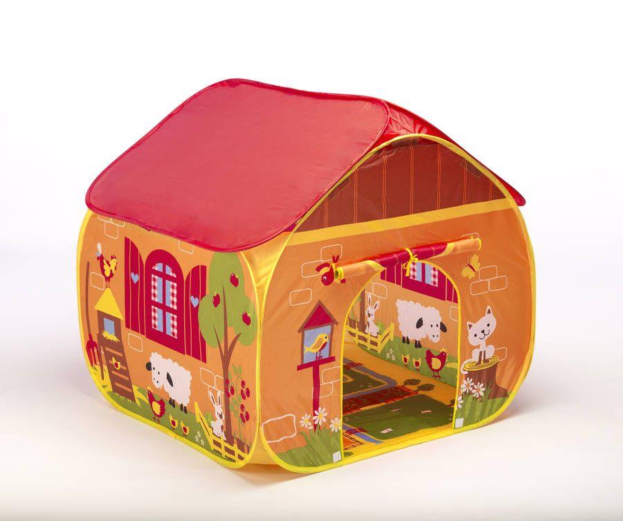 Children's Farm Pop Up Play Tent   Toddler play tent, Pop up