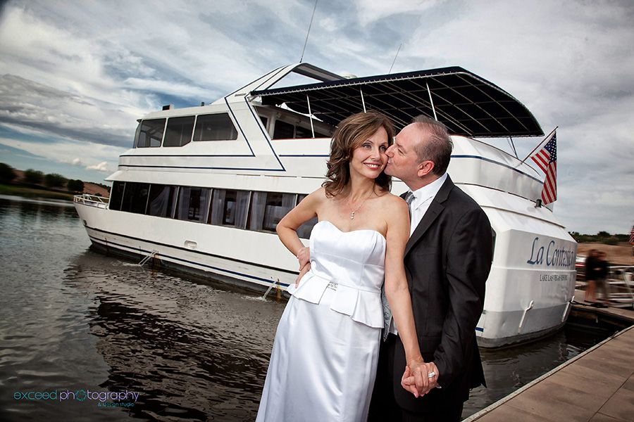The Lake Las Vegas Yacht Wedding Www Exceed Photography