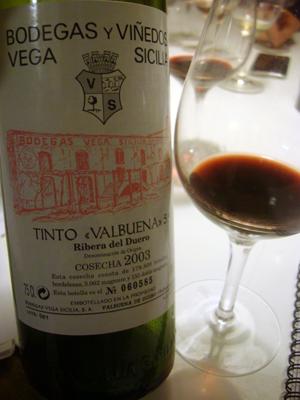 2003 Bodegas Vega Sicilia Ribera Del Duero Valbuena 5 Wine Wine Bottle Wines
