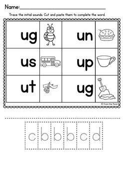 cvc Worksheets | Letras del alfabeto, Actividades para niños y ...