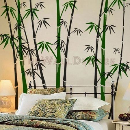Exceptionnel Oriental Bamboo Wall Decals