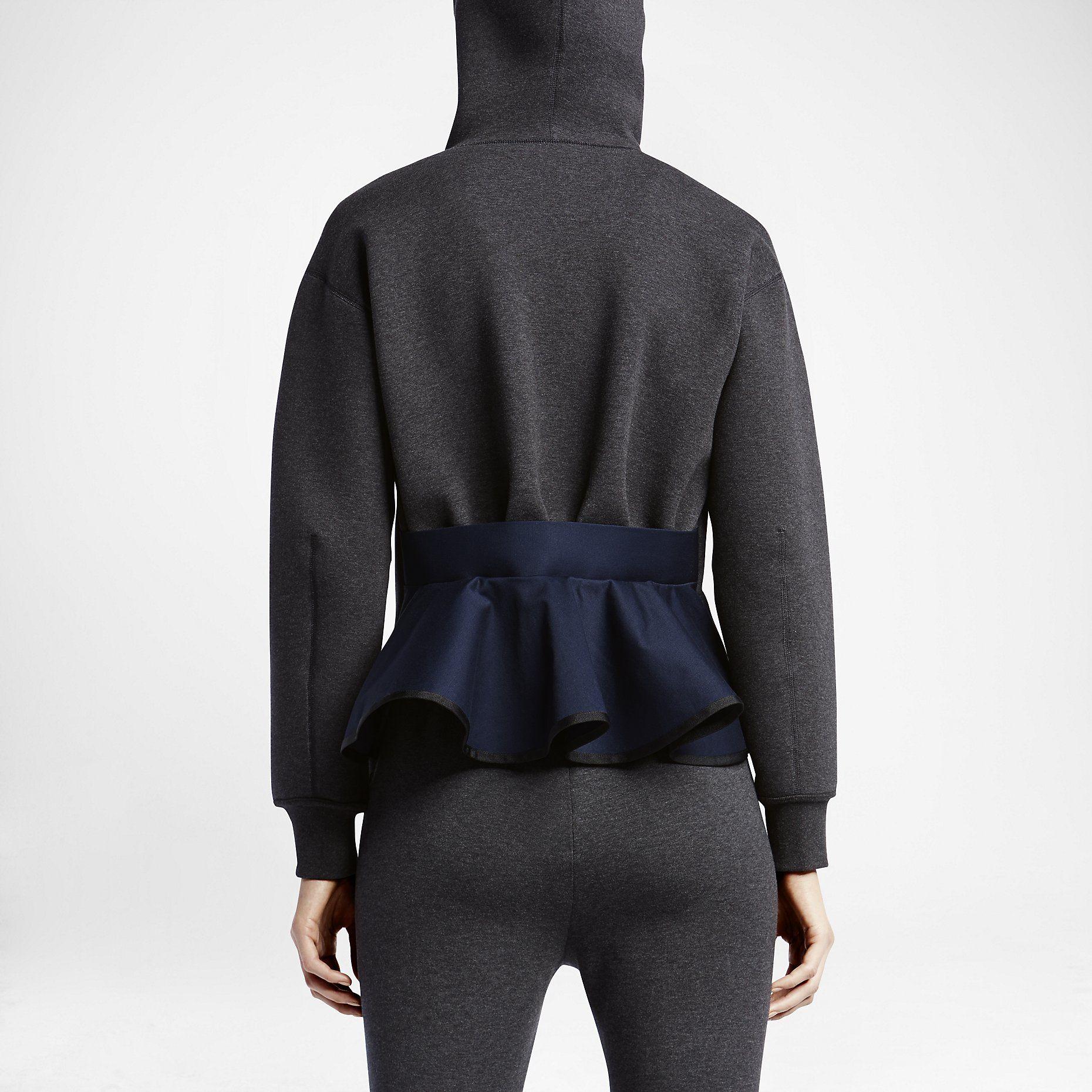 NikeLab x sacai Tech Fleece Full-Zip Women s Hoodie. Nike Store ... ca93729294