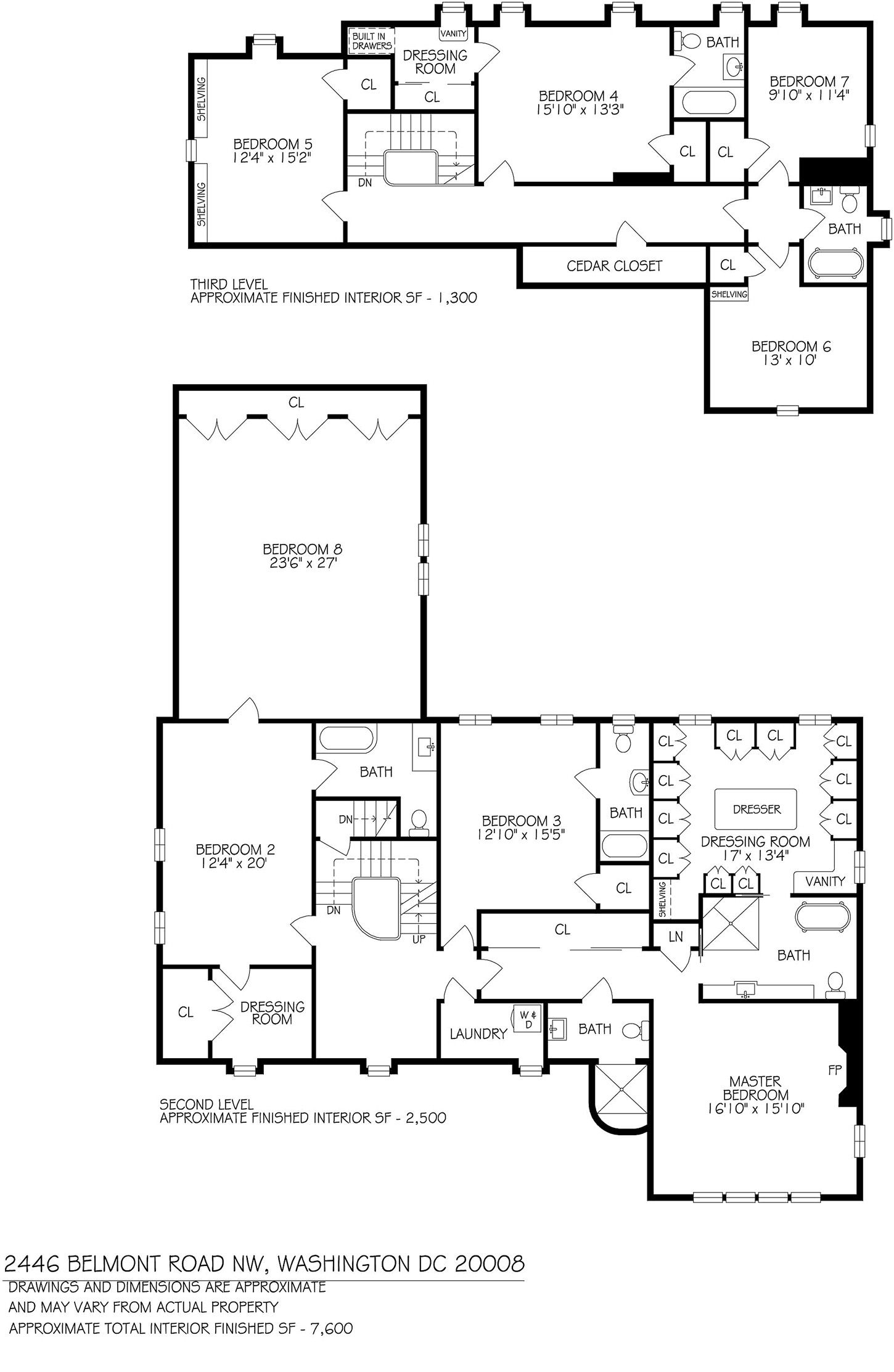Here S The House Obama Will Live In After He Moves Out Of The White House White House Washington Dc Obama House Floor Plans