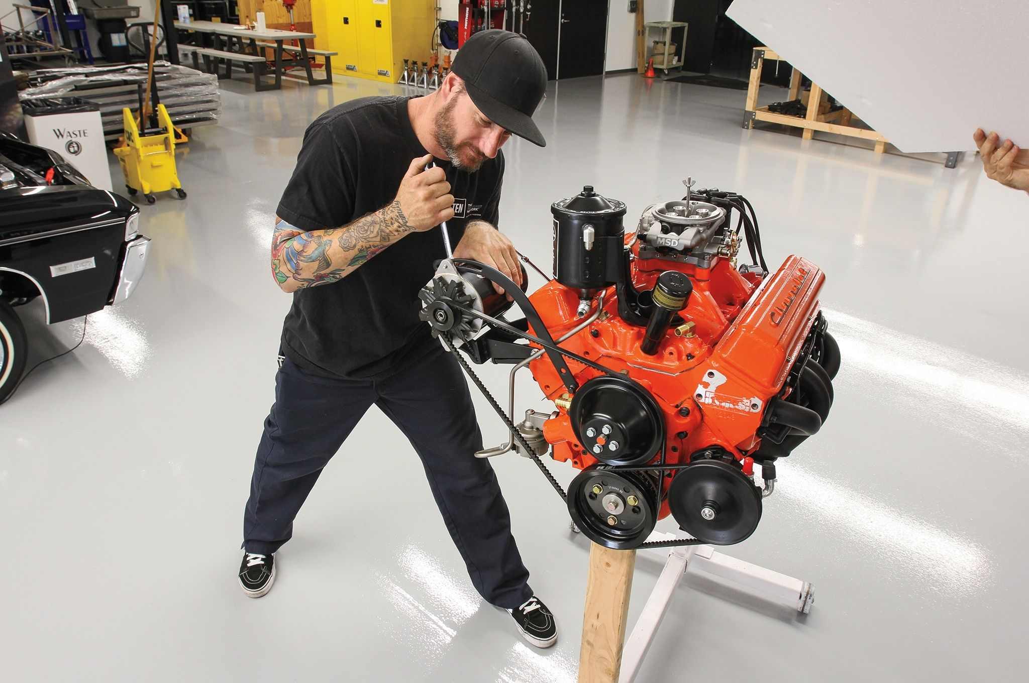 We Re Giving A 383 Small Block Chevrolet Motor A Vintage Look