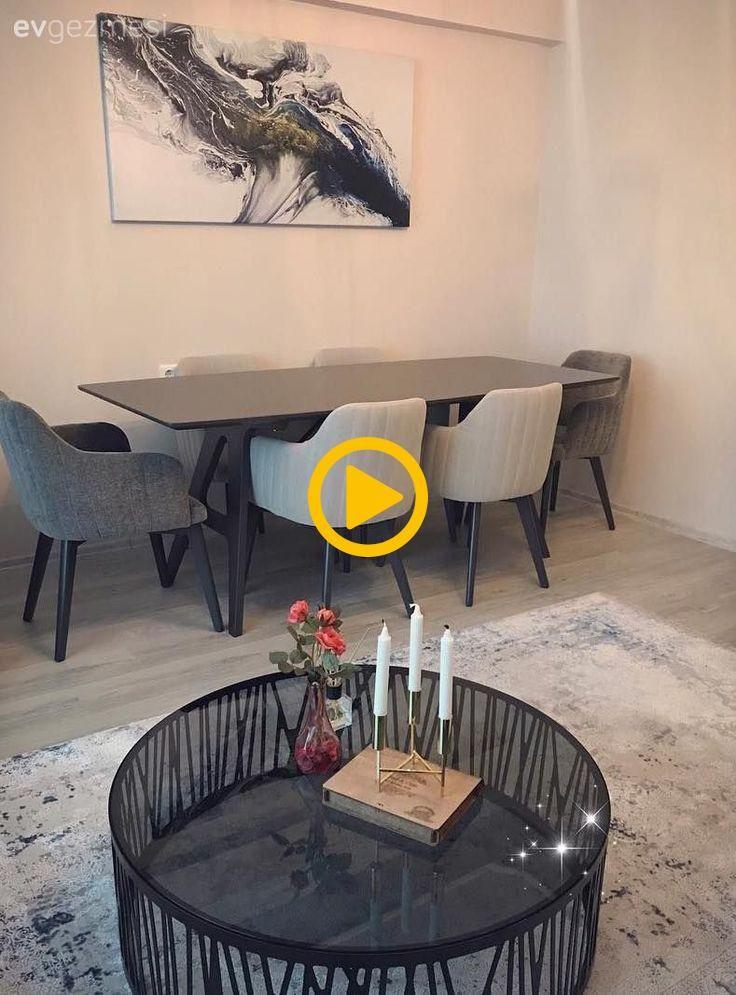 Wohnzimmer, Teppich, Esszimmer, Grau, Runder Tisch ...